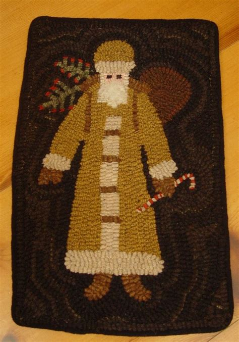 Santa Claus Rugs 17 best images about hooked rugs santa on wool rug hooking and sheep