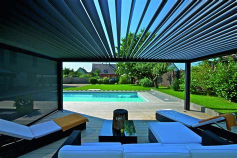 lamellendach f 252 r terrasse und garten gibt es bei g 220 tler - Brustor Lamellendach