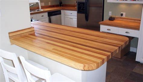 pecan hickory butcher block counter tops