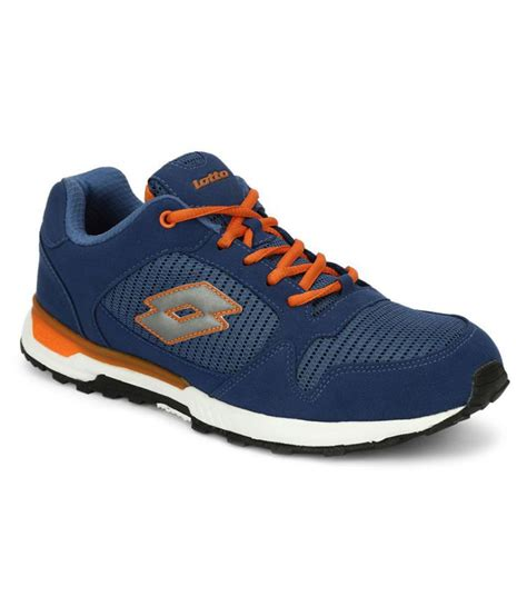 lotto athletic shoes lotto park trainer blue running shoes buy lotto park