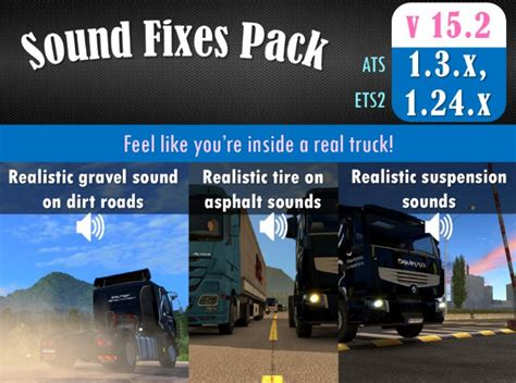 ets2 mod game fixes sound fixes pack v 15 2 ats euro truck simulator 2 mods