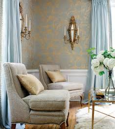 Living Room Blue Gold Creative Choices Interior S Feature Friday Feeling