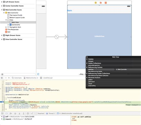 xcode 6 autolayouts stack overflow ios iboutlet nil in xcode 6 stack overflow