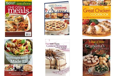 Taste Of Home Books by Taste Of Home 5 Book Sale 7 Back Free Shipping W Code A Hen S Nest Nw Pa