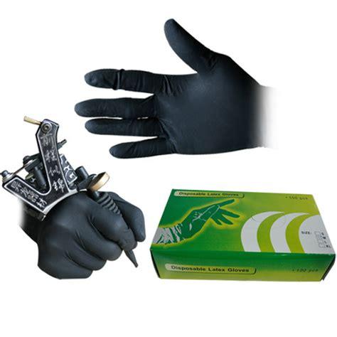 tattoo gloves online india online kopen wholesale zwarte latex handschoenen uit china