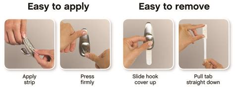 how to hang pictures without nails classic large metal hook command forever brushed nickel