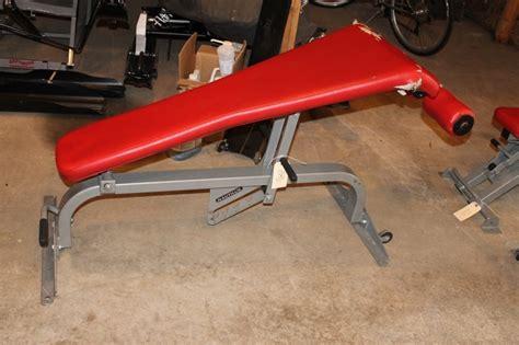 nautilus adjustable bench nautilus adjustable decline bench gym equipment