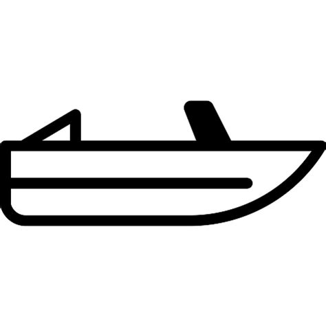 speed boat icon roofless speed boat free transport icons