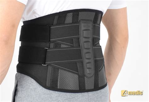 Back Support by Lumbar Back Brace With Support Straps Am So 04 Braceroom
