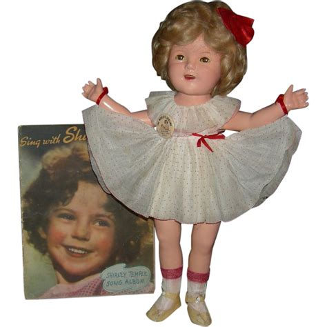 composition doll repair book 1930 s shirley temple composition 20 quot original