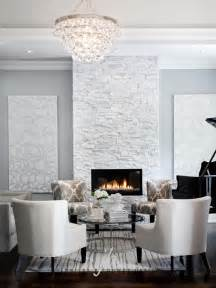 Living Room With Fireplace Wall Color Robert Bling Chandelier Contemporary Living Room