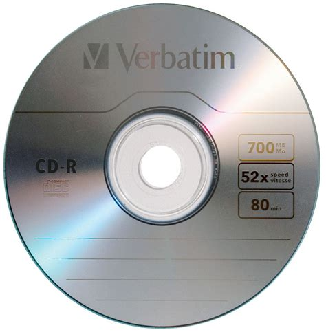 Cdr Blank verbatim protection 52x cd r 700mb 80 minute blank cdr 43411 100 disc pack