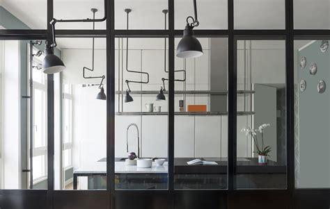Cucina Con Vetrata A Vista parete vetrata la cucina a vista diventa protagonista