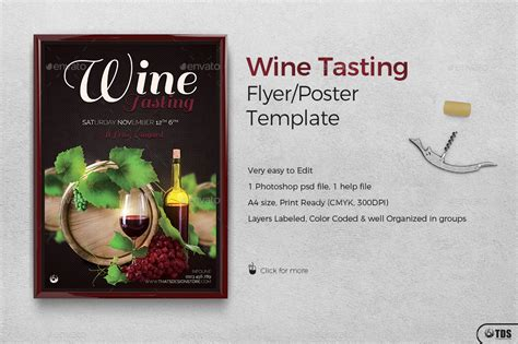 wine flyer template wine tasting flyer template by lou606 graphicriver