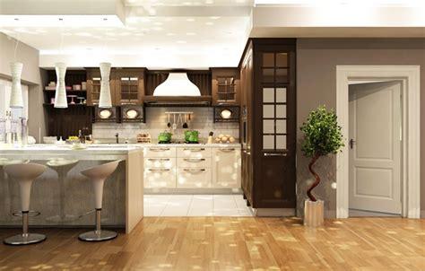 обои дизайн кухня гарнитур interior шкаф дверь