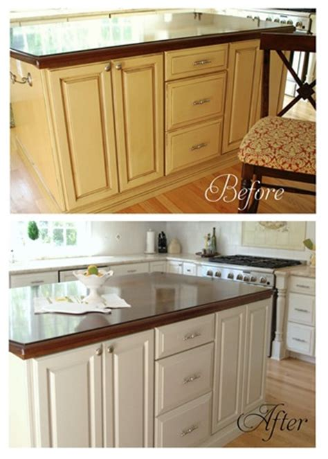 Refinishing Laminate Kitchen Cabinets by Painting Kitchen Cabinets Etc Centsational