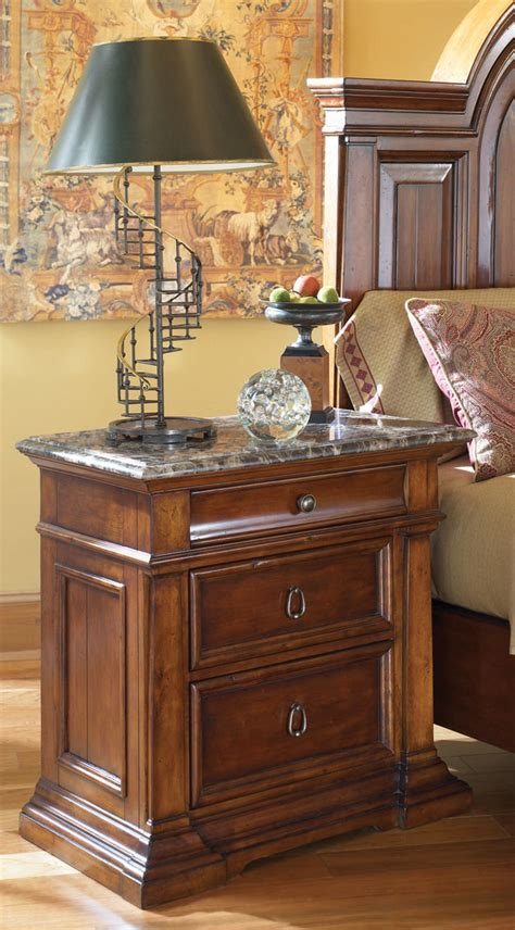 stone bedroom furniture buy american drew european traditions night stand with