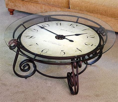 coffee table clock 12 strangest objects you can turn into apartment furniture apartment geeks