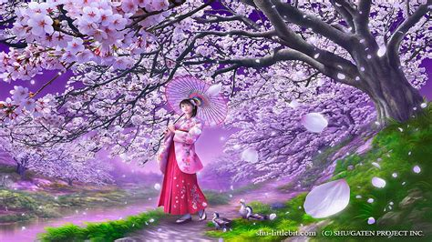 wallpaper abyss spring spring walk full hd wallpaper and background image