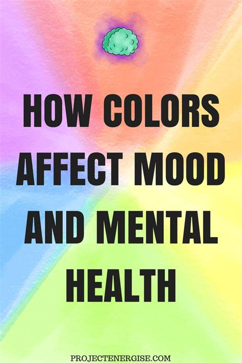 how color affects mood 123651 best psychology topics inspiring words images on