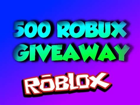 Youtube Giveaways 2016 - roblox 500 robux giveaway 2016 closed youtube