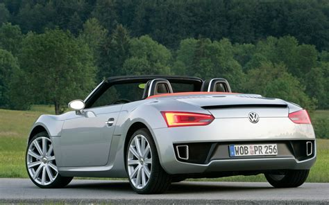 volkswagen sports car models report volkswagen delays bluesport roadster in favor of