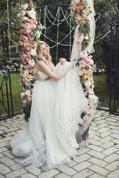 swing wedding 43 delicate spring garden wedding ideas weddingomania