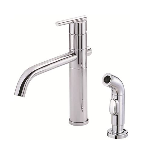 danze parma kitchen faucet danze d405558 parma single handle kitchen faucet with