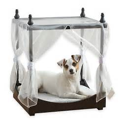 Canopy Beds For Small Dogs Pawslife Pet Canopy Bed Bed Bath Beyond