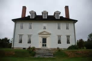 Massachusetts Houses Hamilton House South Berwick Maine C 1785 Pierrepont