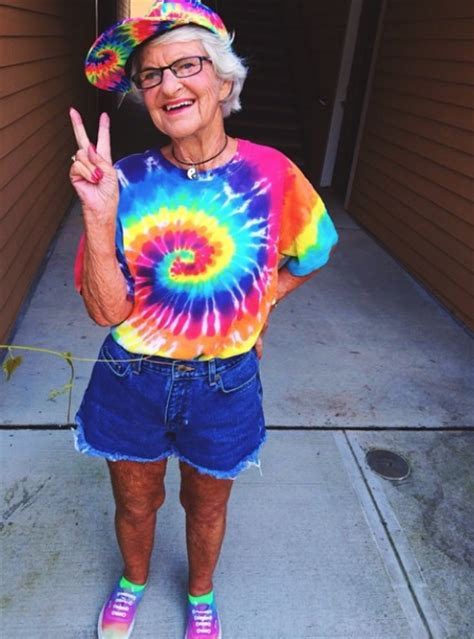brytiago birthday esta abuelita rebelde es la nueva estrella de instagram