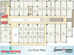 floor plans legend heights at gurgaon innovative