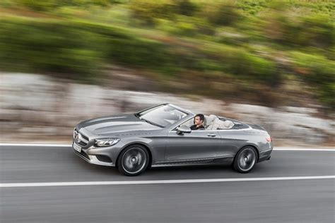 mercedes s class convertible mercedes s class cabriolet is the land yacht we ve been