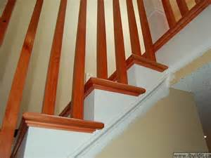 Stair Tread Moulding by How To Redo Old Stairs And Building A New Railing