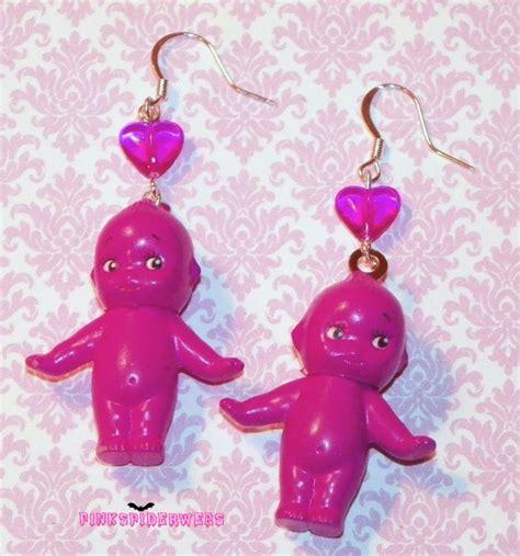 kewpie earrings 363 best pinkspiderwebs jewelry images on