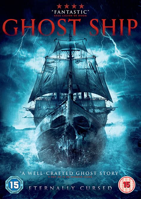 ghost boat movie nerdly 187 ghost ship dvd review