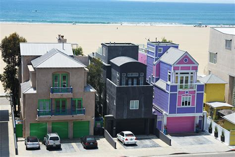 colorful beach houses colorful beach homes photograph by ginny nahmens