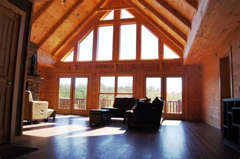 vaulted ceiling windows 17 best images about log homes on models