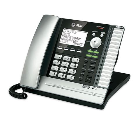 at t ms2015 1 handset 4 line landline