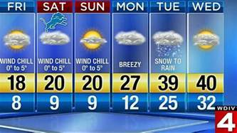 Weather Forecast Detroit Auto Show Weather Forecast Cold With Some Snow To
