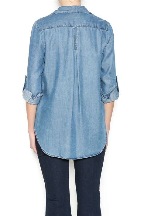 Top Five Chambray by Velvet Vinta Chambray Top From Denver By The