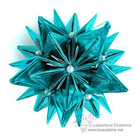modular origami kusudama kusudama me modular origami corona unit