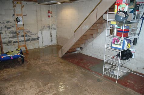 causes of basement flooding and tips on how to deal