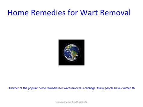 home remedies for wart removal