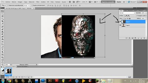 tutorial photoshop terminator photoshop efecto terminator tutorial hazlo tu mismo