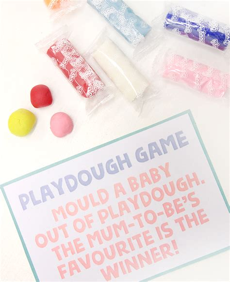 Baby Shower To Play by Play Dough Baby Shower Delights