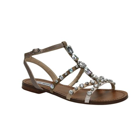 Steve Madden Rhinestone Sandals by Steve Madden Bjeweled Rhinestone Sandals Aversa Shoes S R L