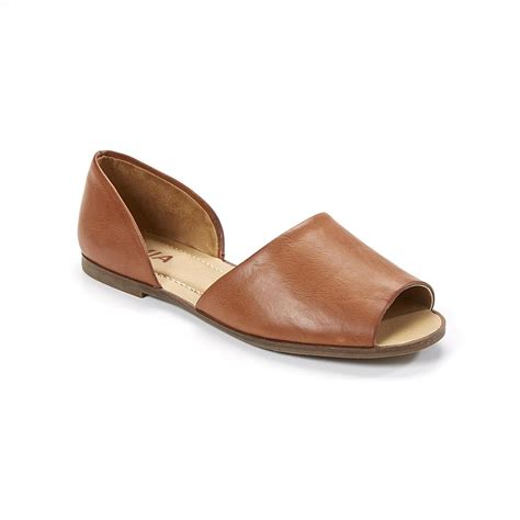 peep toe sandals flat s sia taupe peep toe flat sandal