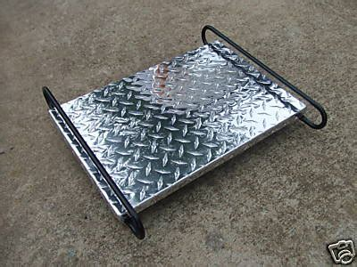 Trailer Cooler Rack new pull motorcycle trailer harley honda gold wing gl 1800 ebay