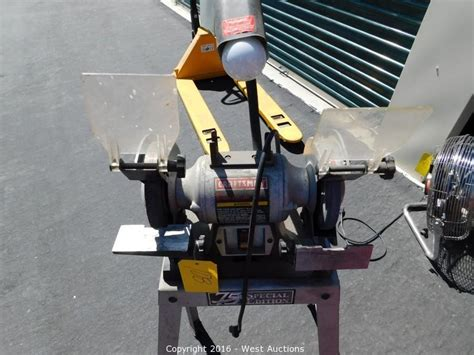craftsman 6 bench grinder west auctions auction bankruptcy auction of interface